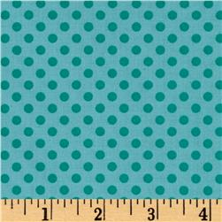 Woodland Gypsy Dots Aqua