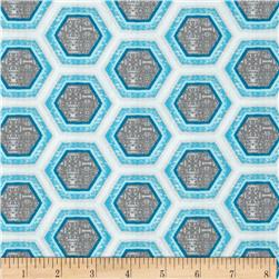 Ty Pennington Impressions 2012 Hive Honeycomb Event Grey/Blue