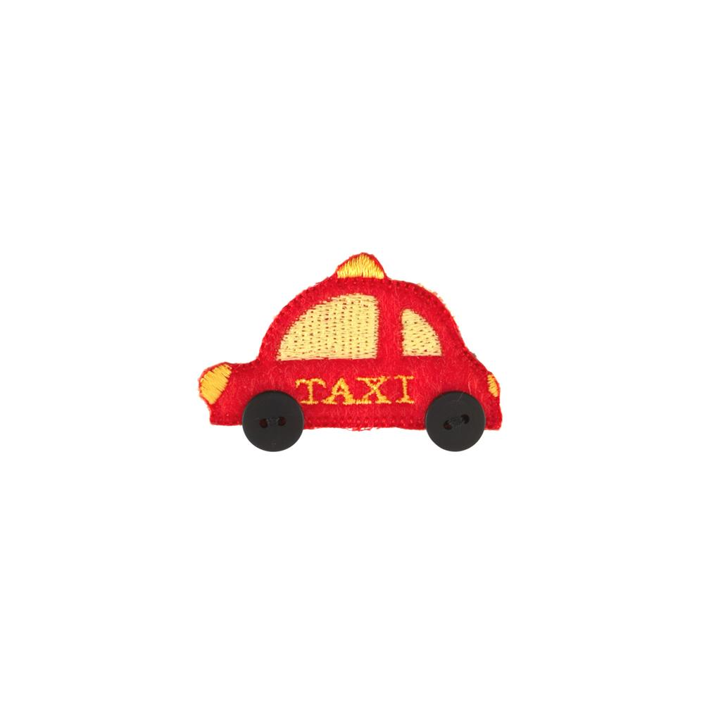 Taxi Applique Red