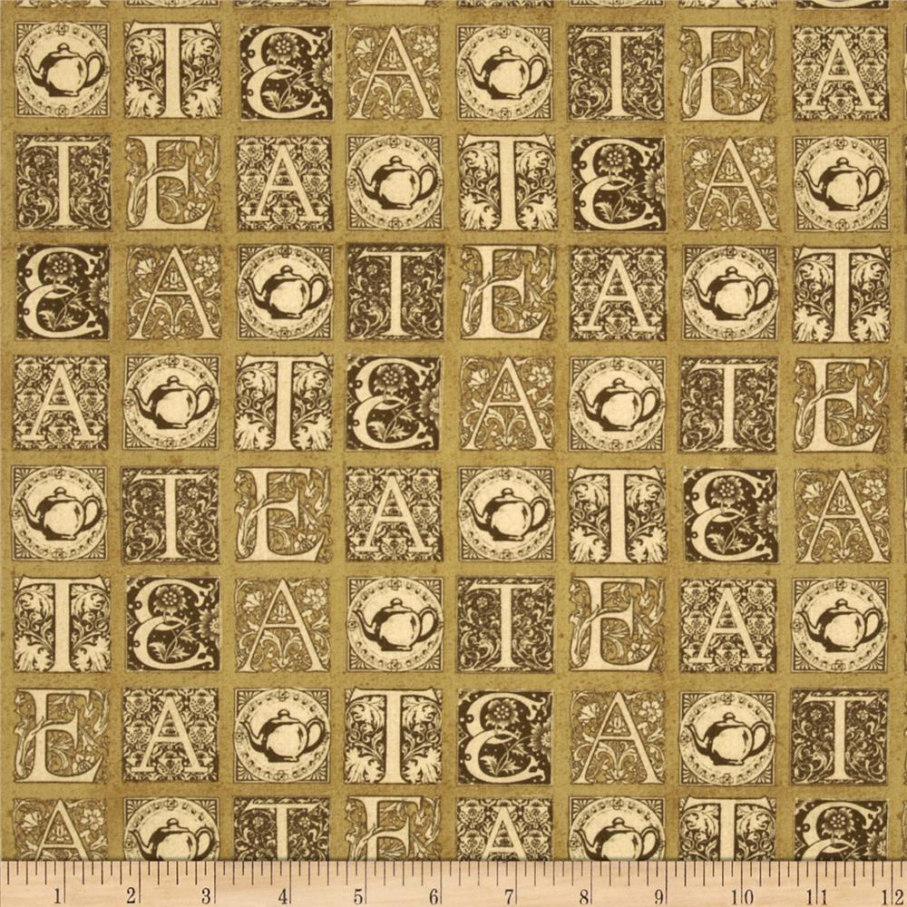 Short & Stout Tea Tiles Brown