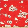 Moda Haiku Falling Bloom Coral