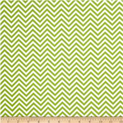 Remix Zig Zag Lime Fabric