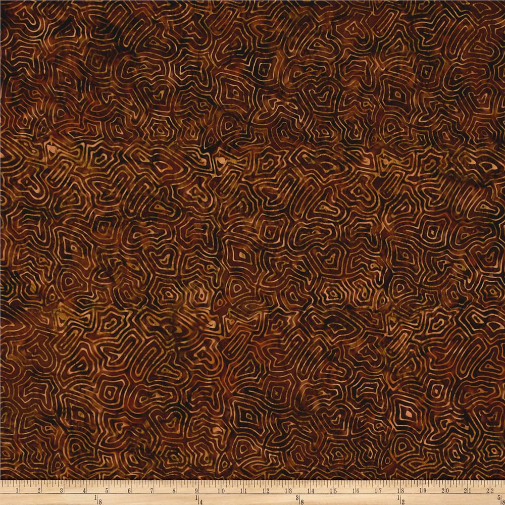 Timeless Treasures Tonga Batik Autumn Maze