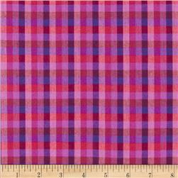 Peppered Cotton Small Check Sweetheart