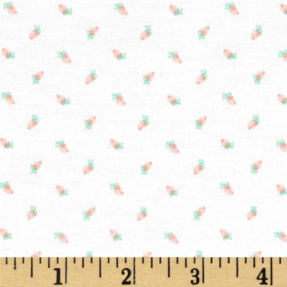 Riley Blake Sew Charming Rosebuds White