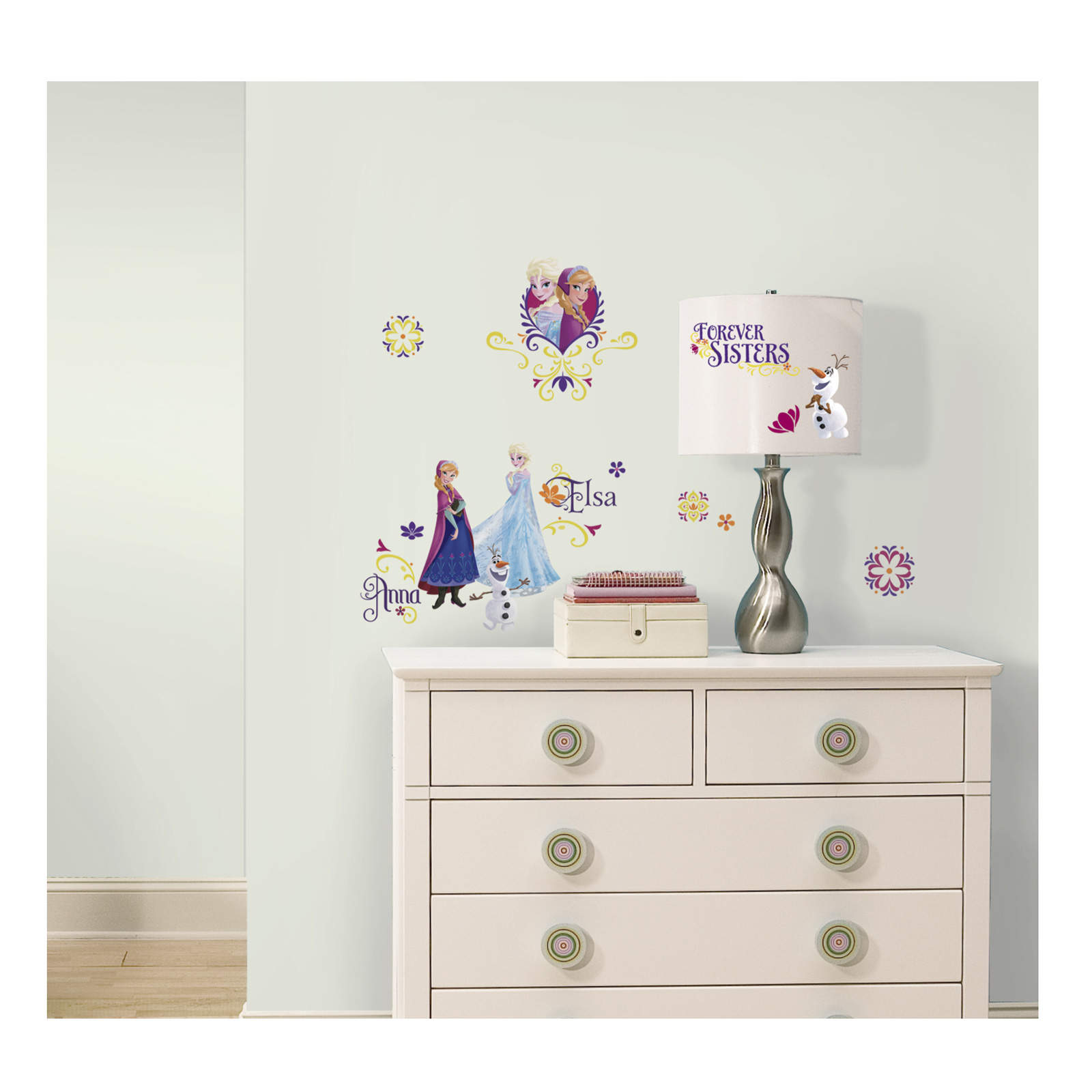 Frozen Spring Wall Decals by Stardom Specialty in USA