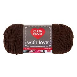 Red Heart With Love 1321 Chocolate