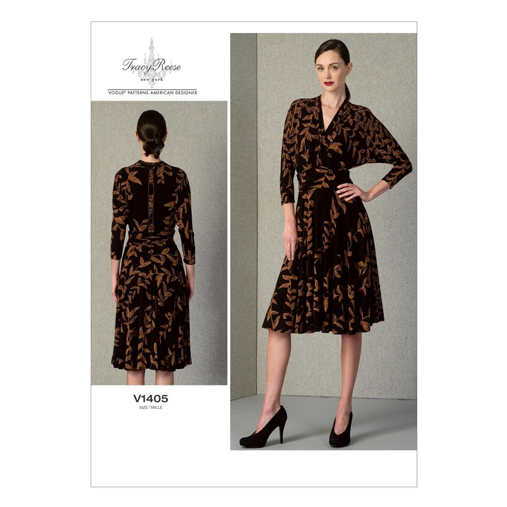 Vogue Misses' Dress Pattern V1405 Size B50