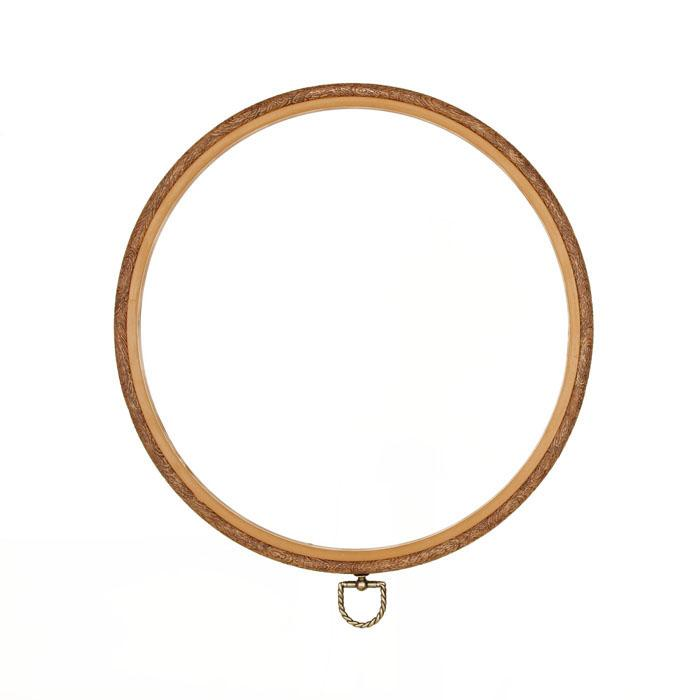 "Westex 10"" Wood Grain Flex Embroidery Hoop"