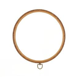 Westex 10'' Wood Grain Flex Embroidery Hoop