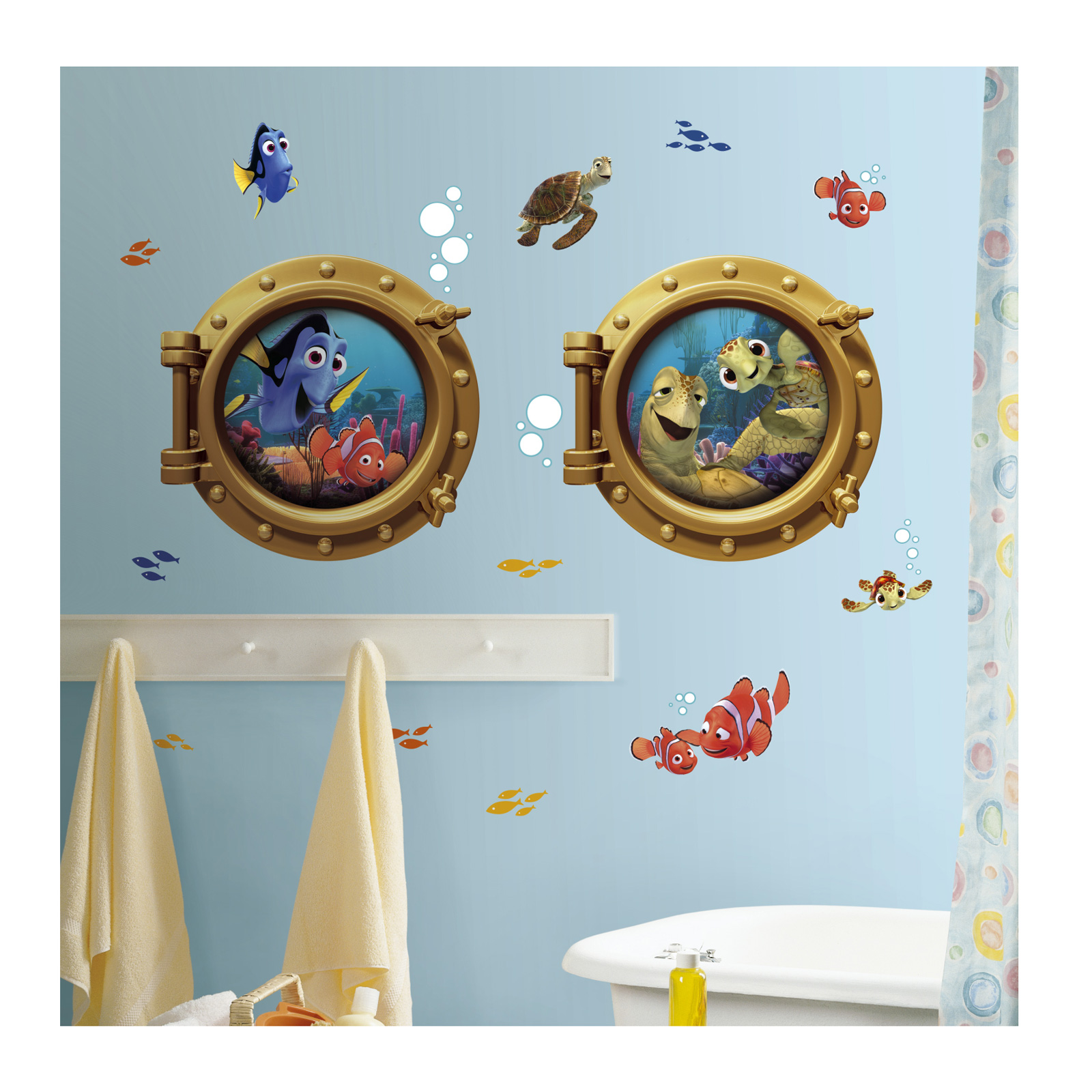 Finding Nemo Giant Wall Wall Decals by Stardom Specialty in USA