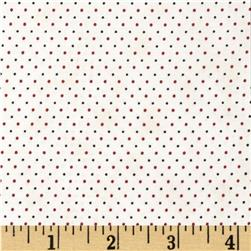 Penny Rose 19th Century Shirtings Dots Red