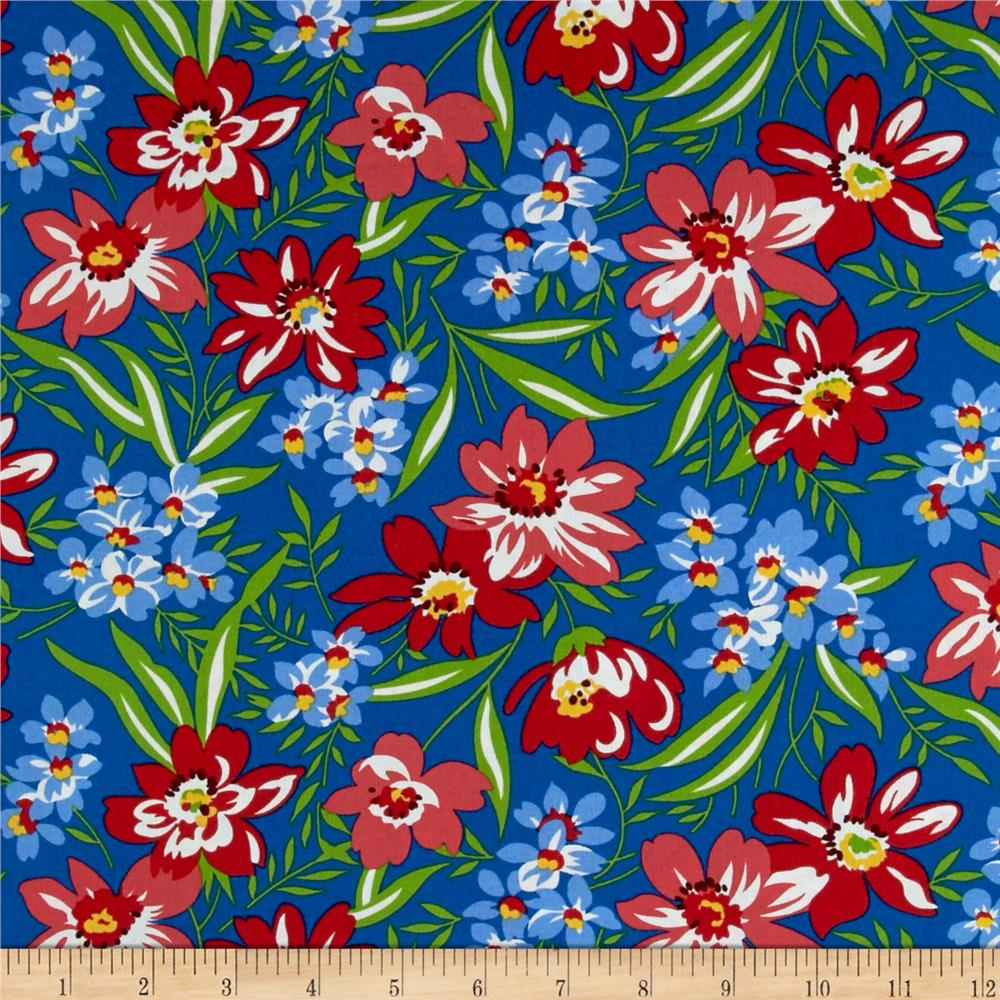 Farmhouse Blooms Spring Blooms Blue