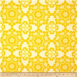 Riley Blake Home Décor Ornate Damask Yellow Fabric