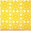 Riley Blake Home Décor Ornate Damask Yellow