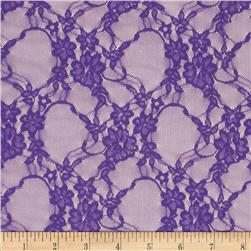 Stretch Lace Purple