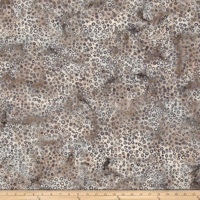 Bali Batiks Handpaints Static Dots Seacliff