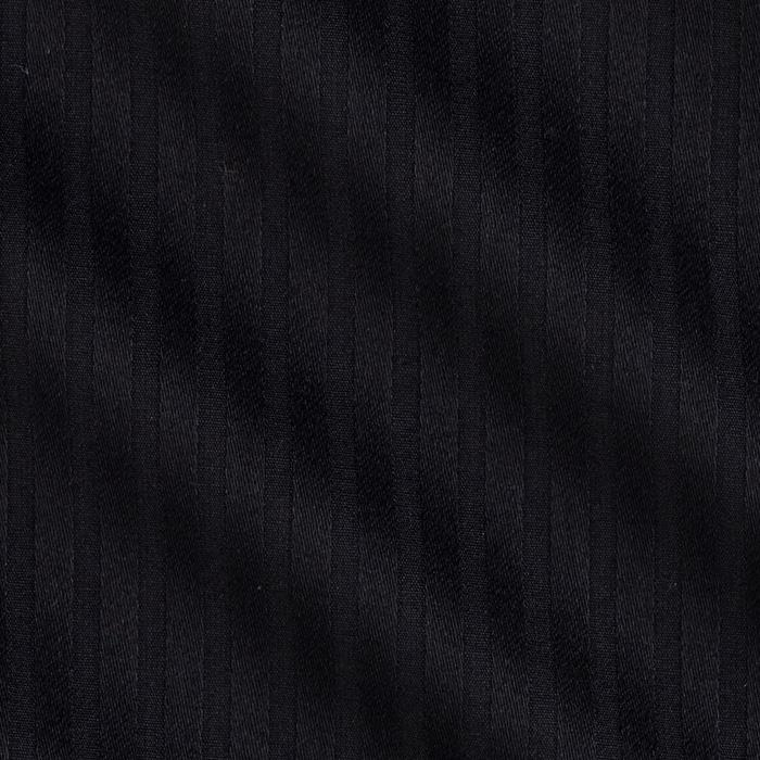 Kaufman Raw & Refined 5 oz. Dobby Medium Stripe Black