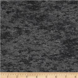 Designer Burnout Knit Pebbles Foiled Dark Grey