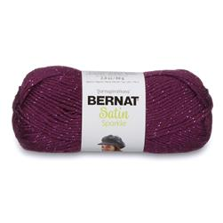 Bernat Satin Sparkle Yarn Amethyst
