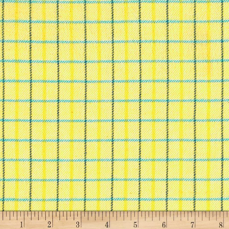 marcus primo plaids color crush flannel small plaid yellow. Black Bedroom Furniture Sets. Home Design Ideas