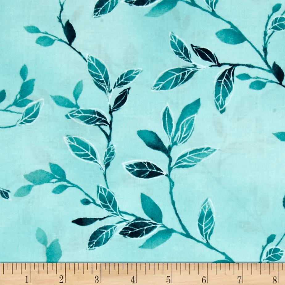 Isabella Branches & Leaves Teal