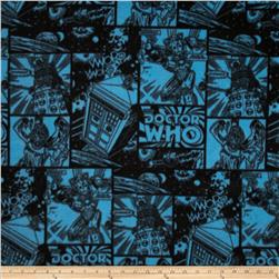 Doctor Who Comics Fleece You Will Be Assimilated Blue