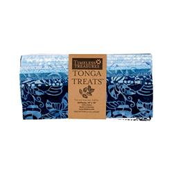 "Timeless Treasures Tonga Batik Indigo 10"" Squares Half Pack"