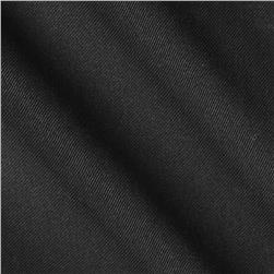 Cotton Poly Twill Lining Black Fabric