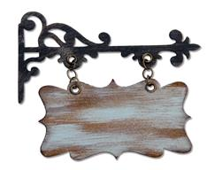Sizzix Tim Holtz Bigz Die Hanging Sign