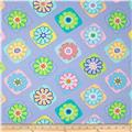 Moda Grow Flower Tiles Petal Purple