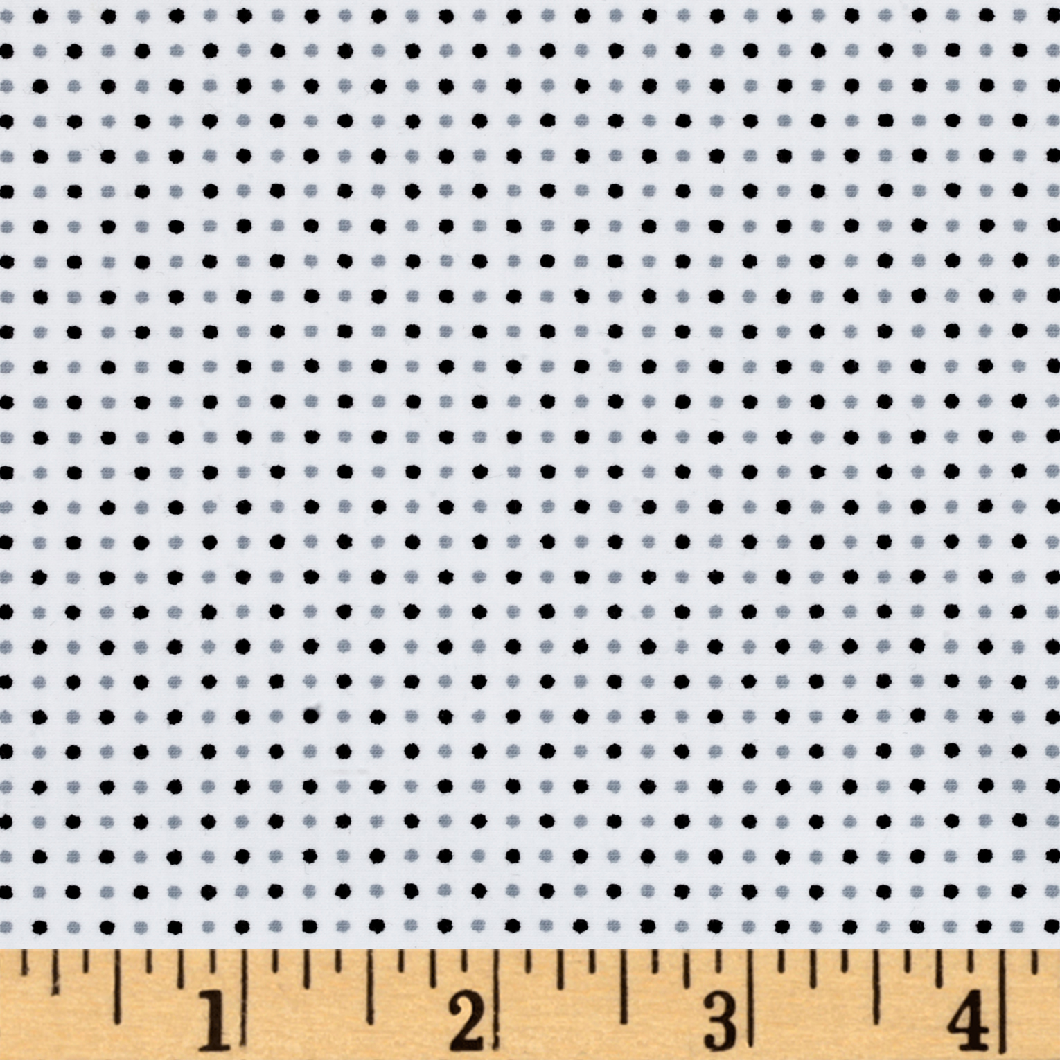 Avalana Jersey Knit Dots White Fabric Style 469584 by Stardom Specialty in USA
