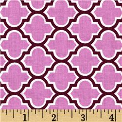 Aviary 2 Lodge Lattice Lilac Fabric