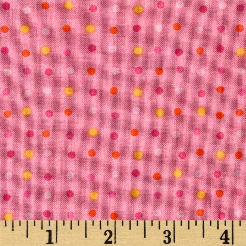 Moda Dot .Dot.Dash-! Mini Pink