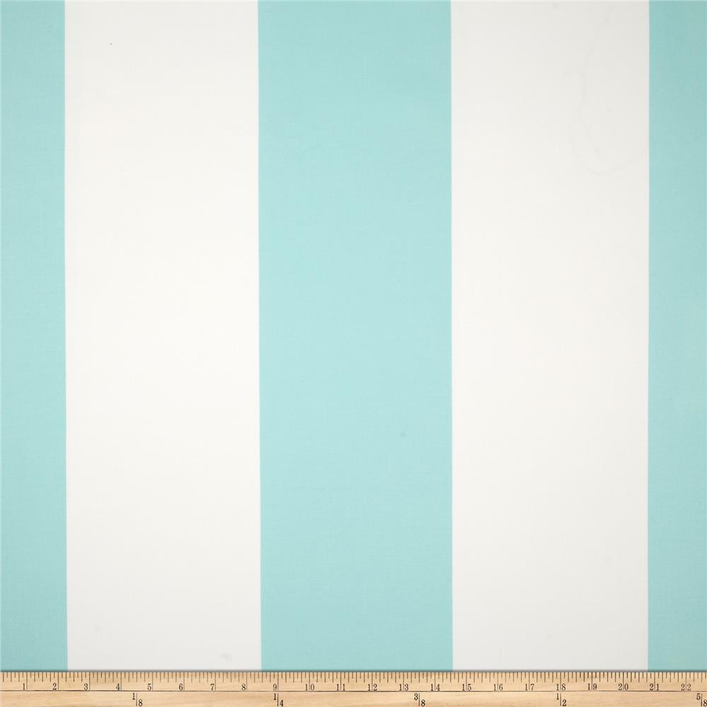 Michael Miller Bekko Home Decor Wide Stripe Aqua