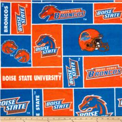 Collegiate Fleece Boise State University Blocks Blue/Orange