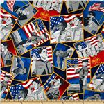 A Scout is Patriotic Patches Multi