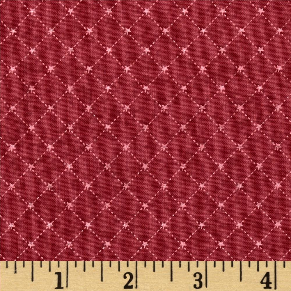 Winter Village Bias Grid Red