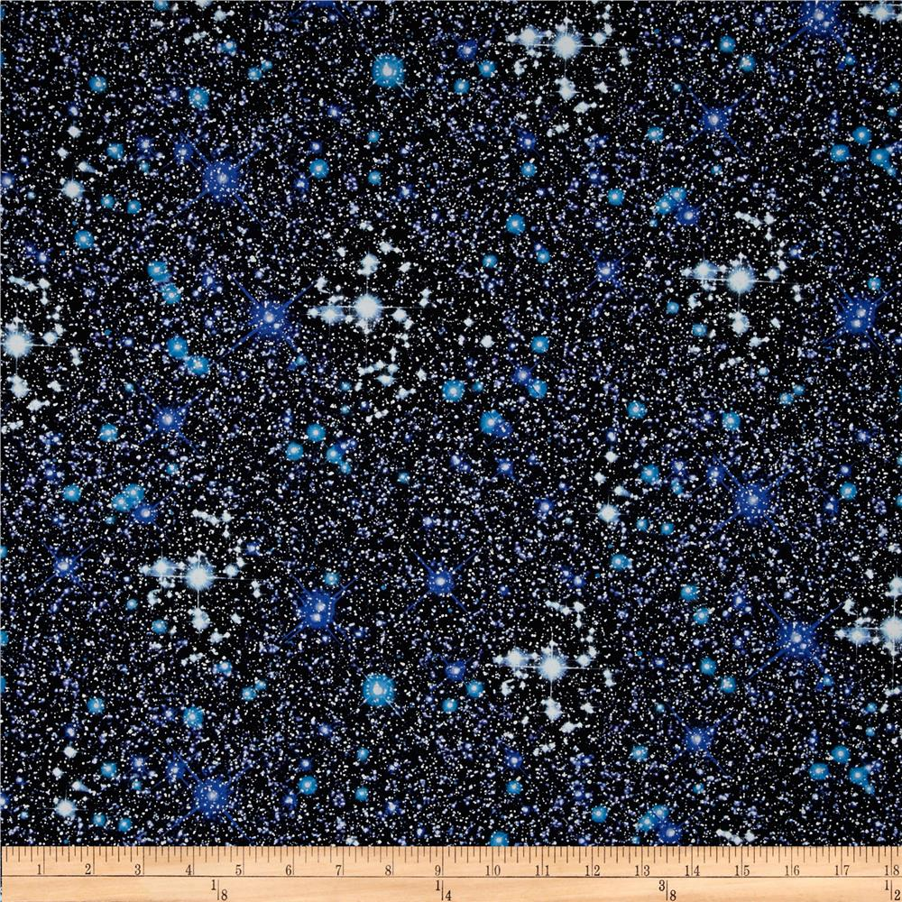 Kanvas Cosmos Night Sky Metallic Black/Blue