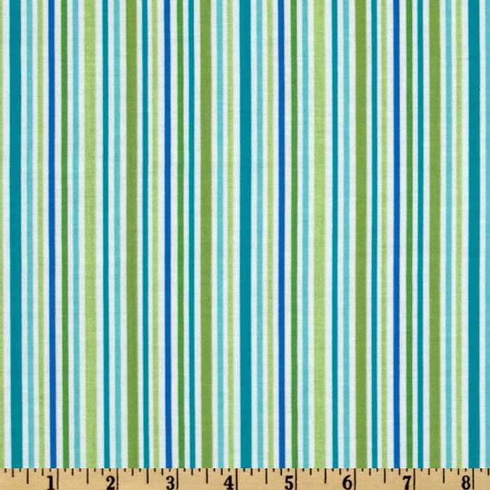 Riley Blake Zoofari Stripe Blue