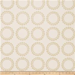Fabricut 50030w Cercle Wallpaper Parchment 05 (Double Roll)