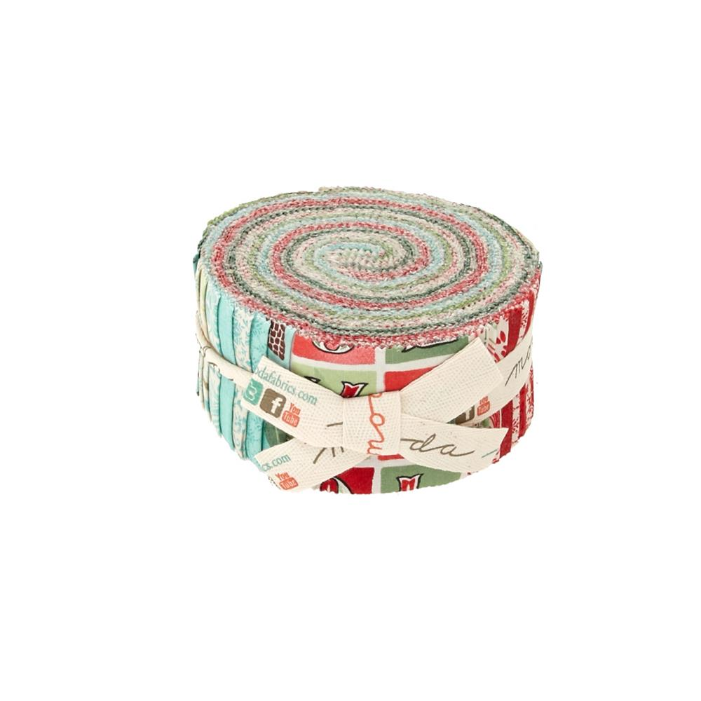 Moda Evergreen 2.5 In. Jelly Roll Multi