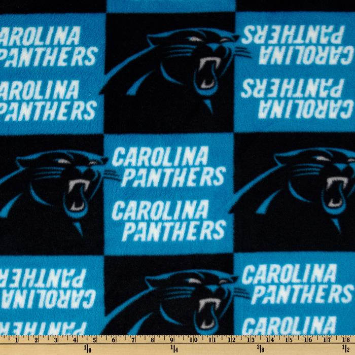 NFL Fleece Carolina Panthers Turquoise/Black