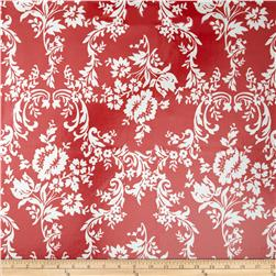 Riley Blake Lost & Found 2 Laminate Damask Red