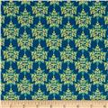 Kentucky State Flower Goldenrod Blue/Yellow/Green
