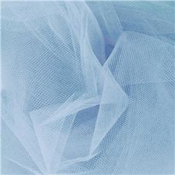 108'' Wide Nylon Tulle Cotillion Blue Fabric