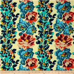 Amy Butler Eternal Sunshine Home Decor Sateen Rose Vine Ivory