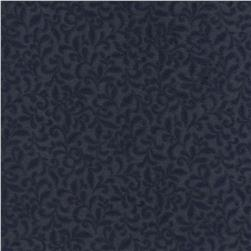 Timeless Treasures Americana Flannel Sprigs Blue Fabric