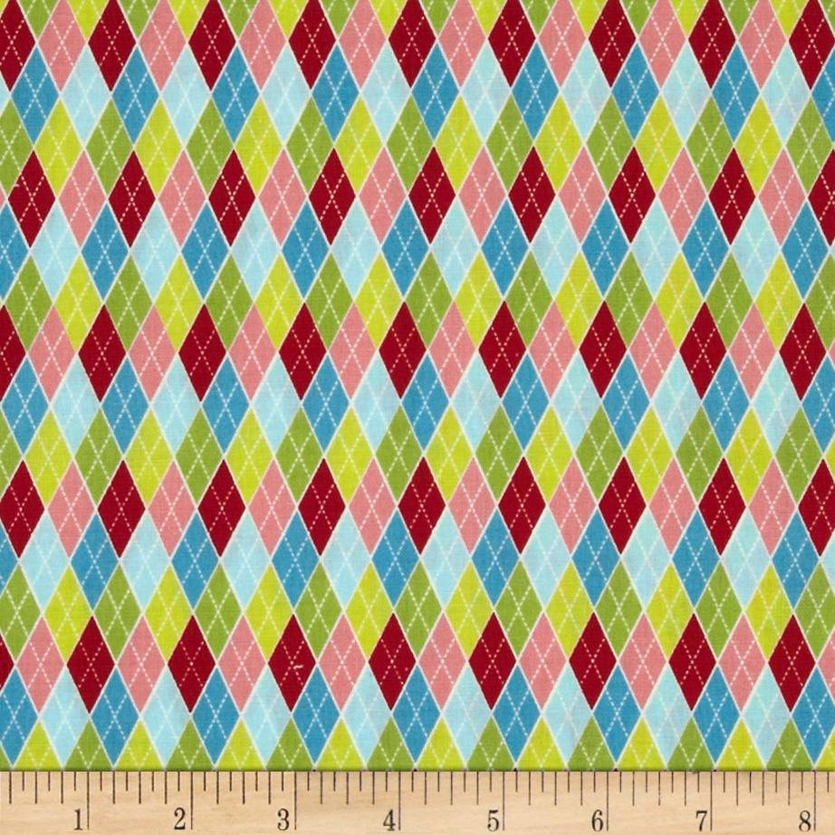 Lovebirds Argyle Multi