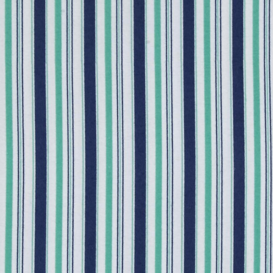 Riley Blake Cozy Christmas Flannel Stripe Blue Fabric By The Yard